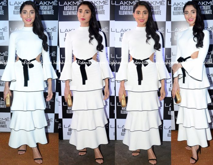 Pernia Qureshi Wears Proenza Schouler To Sabyasachi's Show At Lakme Fashion Week