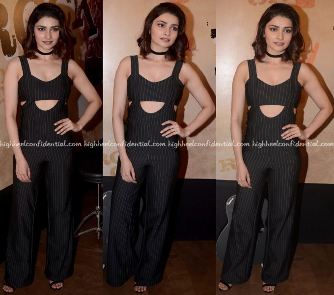 Prachi Desai In Boohoo At Rock On 2 Trailer Launch