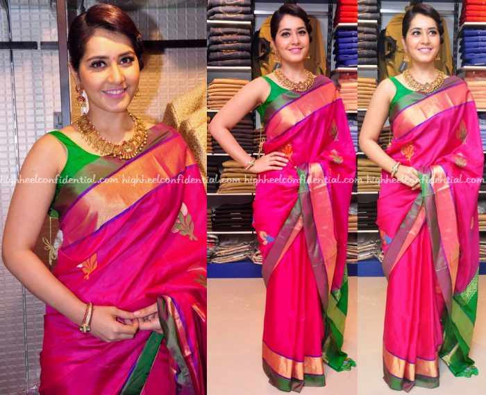 Raashi Khanna At R S Brothers Store Launch-1