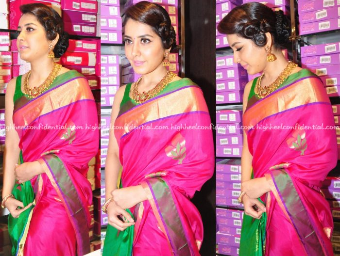 Raashi Khanna At R S Brothers Store Launch-2