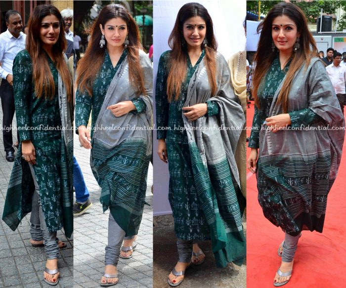 Raveena Tandon AT An Event IN Mumbai