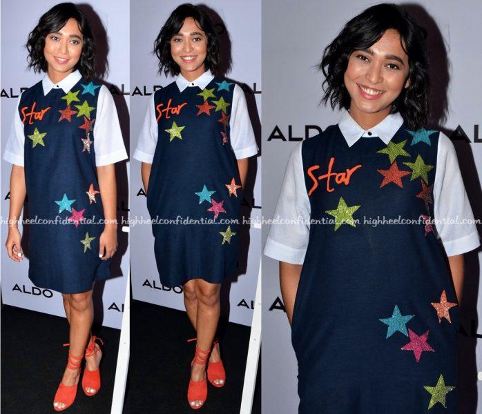 Sayani Gupta Wears Shahin Mannan To Aldo's Fall Collection Preview