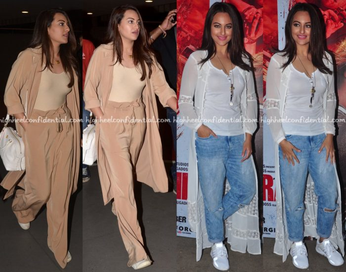 Sonakshi Sinha At Akira Promotions (In Deme) And Screening