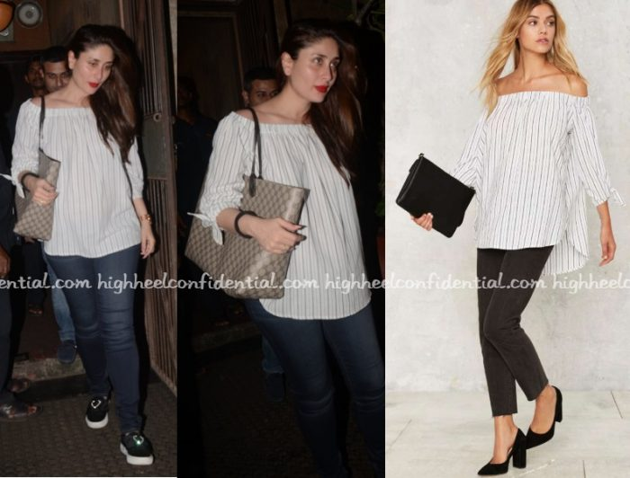 kareena-kapoor-nasty-gal-off-shoulder-top-dinner