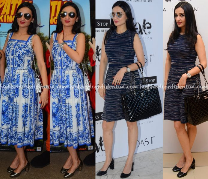 anu-dewan-at-love-generation-launch-in-dolce-gabbana-and-at-motu-patlu-screening-in-missoni