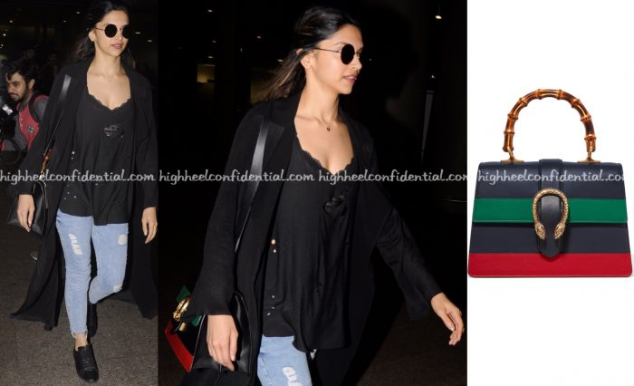 deepika-padukone-at-mumbai-airport-and-roshni-chopra-at-araaish-2016-edition-1