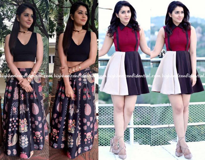raashi-khanna-wears-forever-new-ritu-kumar-and-ruvya-to-hyper-promotions-1