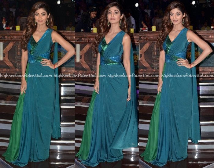 shilpa-shetty-wears-amit-aggarwal-to-super-dancer-sets