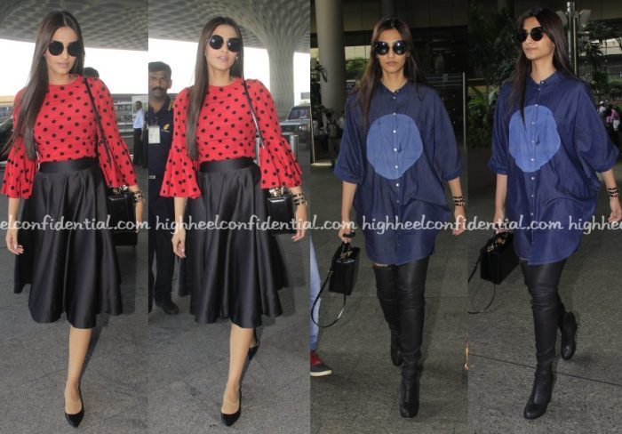 sonam-kapoor-dolce-gabbana-bhane-mark-cross-airport