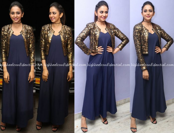 rakul-preet-singh-wears-nitya-bajaj-to-dhruva-trailer-launch-1