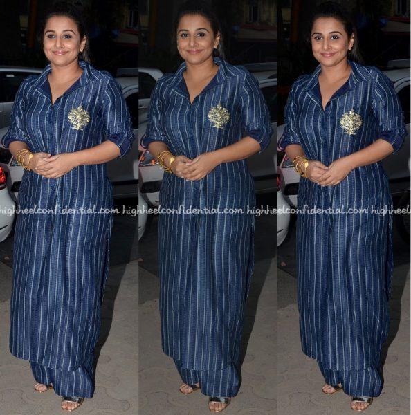 vidya-balan-wears-zoraya-to-kahaani-2-promotions
