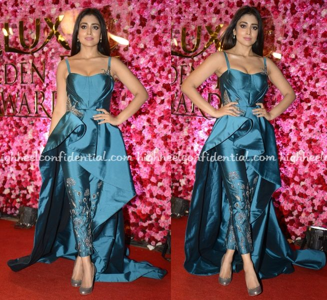 shriya-saran-rajat-tangri-lux-golden-rose-awards-2016
