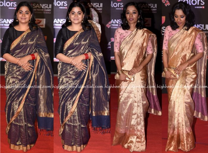 ashwiny-iyer-tiwari-and-tillotama-shome-at-stardust-awards-2016