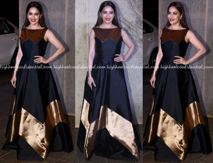 madhuri-dixit-wears-rajat-tangri-to-manish-malhotras-50th-birthday-do