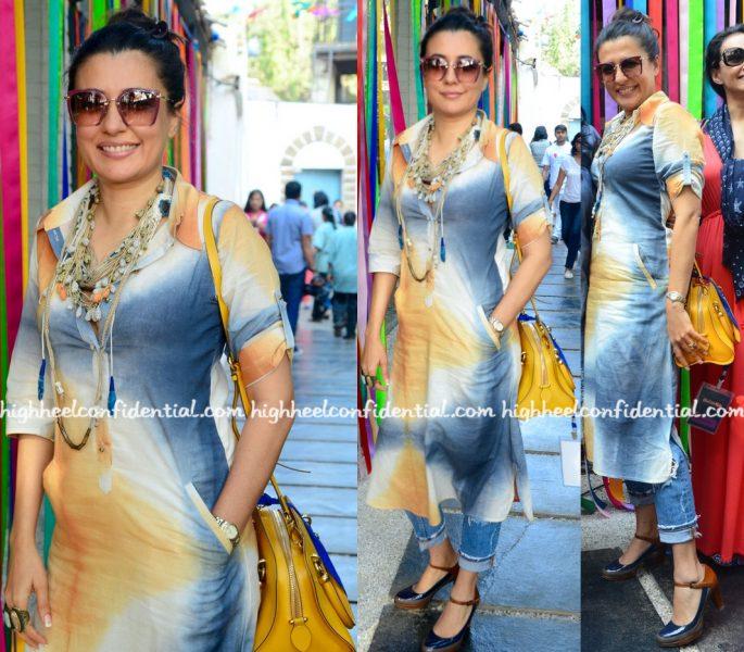mini-mathur-wears-khara-kapas-to-festivelle-2016-event-1