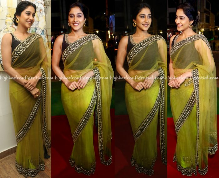 regina-cassandra-wears-sudhanshi-garg-to-an-event-in-hyderabad