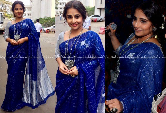 vidya-balan-wears-anavila-to-kahaani-2-promotions