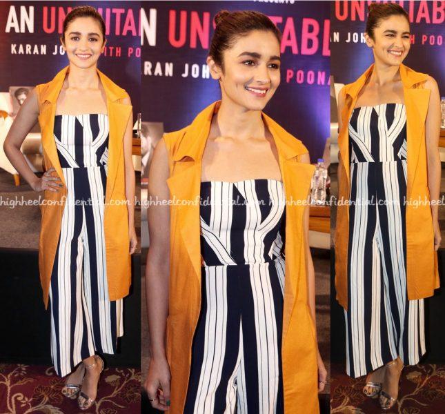 Alia Bhatt Wears H&M To Karan Johar's 'An Unsuitable Boy' Book Launch-1