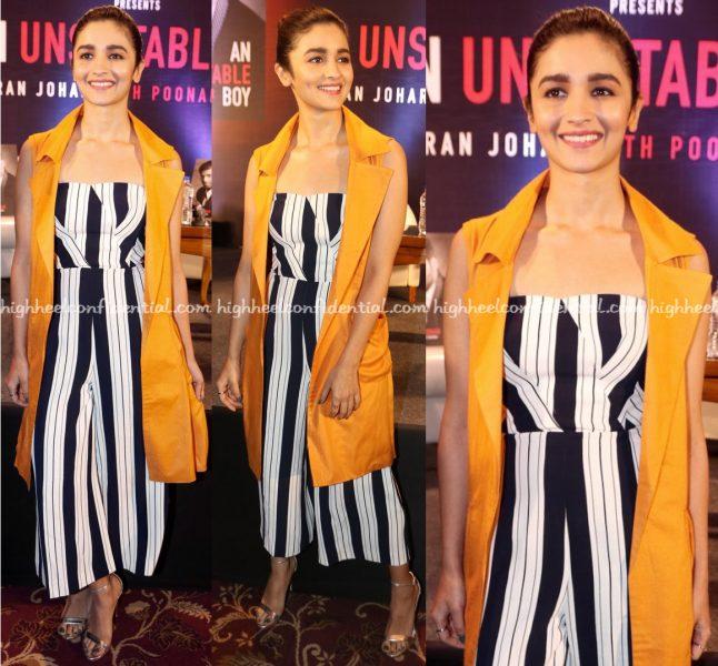 Alia Bhatt Wears H&M To Karan Johar's 'An Unsuitable Boy' Book Launch-2