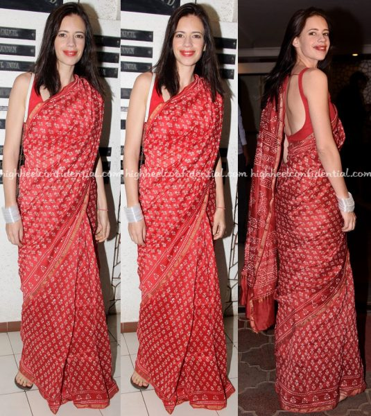 Kalki Koechlin At Javed Akhtar Birthday Do
