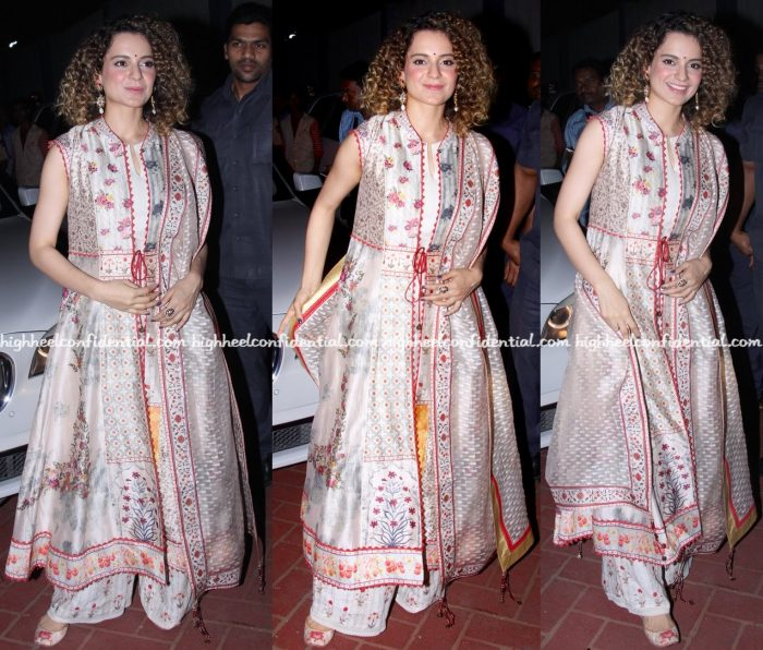 Kangana Ranaut At 'International Customs Day' Event