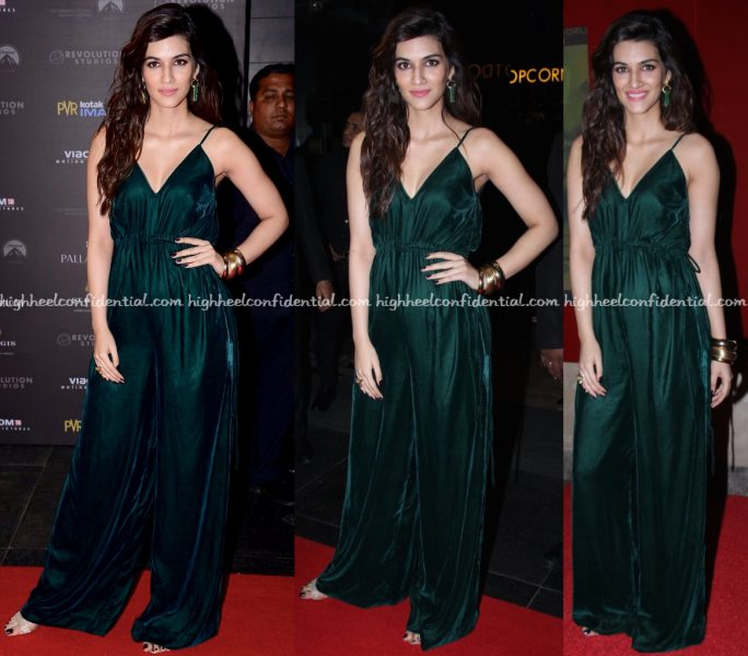 Kriti Sanon In Lola By Suman B At XXX- Return Of Xander Cage Mumbai Premiere