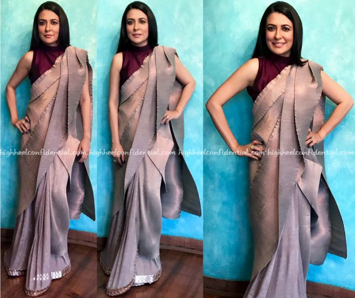 Mini Mathur Wears Kiran Uttam Ghosh To Women's Leadership Symposium