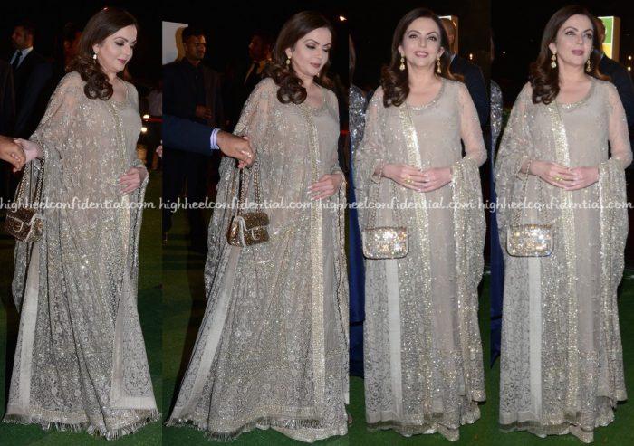 Nita Ambani Wears Sabyasachi To Trishya Screwvala-Suhail Chandhok Wedding Reception