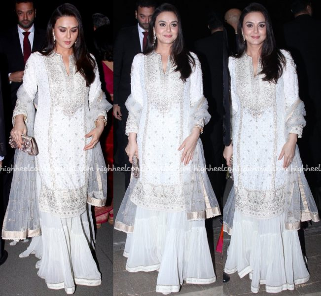 Preity Zinta At Radha Kapoor-Aditya Khanna Wedding Reception-1