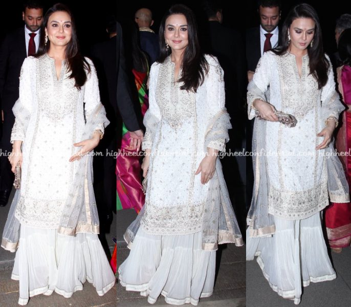 Preity Zinta At Radha Kapoor-Aditya Khanna Wedding Reception-2