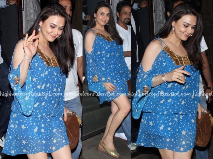 Preity Zinta-Surily G-Out And About In Mumbai