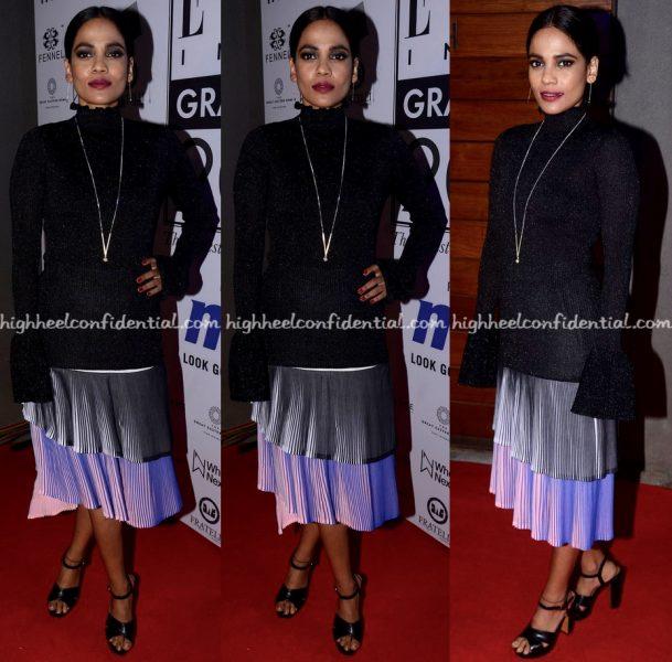 Priyanka Bose In H&M And Miuniku At Elle Graduates 2017 Event