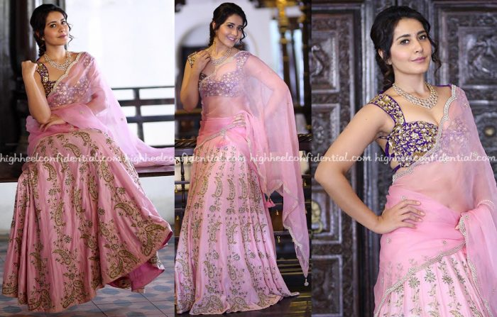 Raashi Khanna Wears Shilpa Reddy To A Sankranti Event
