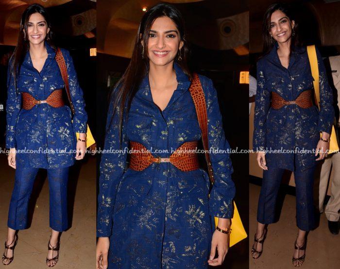 Sonam Kapoor Wears Paule Ka To Kaabil Screening-1