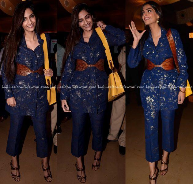 Sonam Kapoor Wears Paule Ka To Kaabil Screening-2