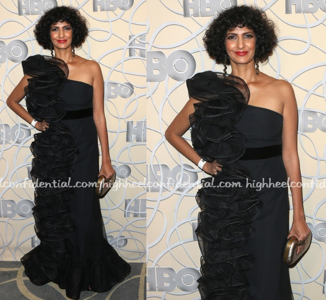 poorna-jagannathan-hbo-golden-globes-party-gucci