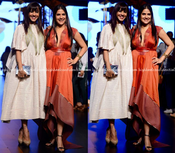 Manasi Scott And Sona Mohapatra At Lakme Fashion Week Summer:Resort 2017-2