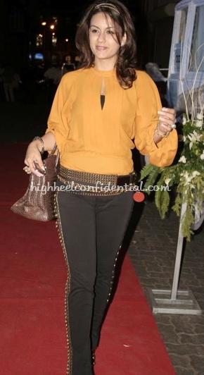natasha-poonawalatara-sharma-jooal-jewelry-launch-orange-top-chocolate-birkin-bag1.jpg