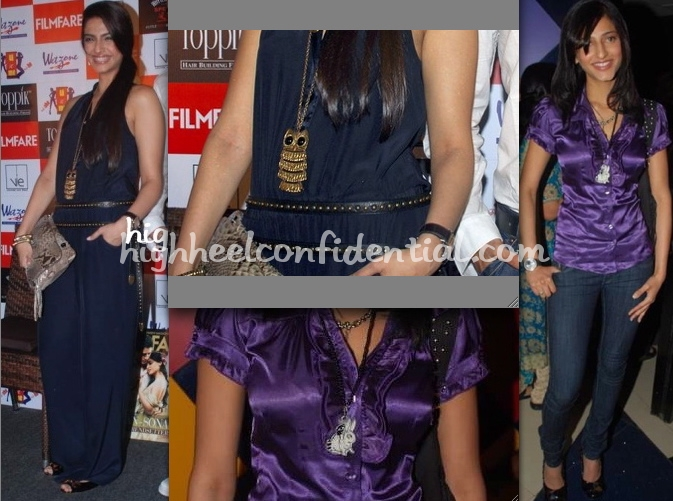 sonam-kapoor-owl-necklace-shruti-hassan-rabbit-necklace1