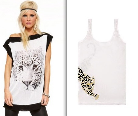 bebe-dvf-tank-tiger-top