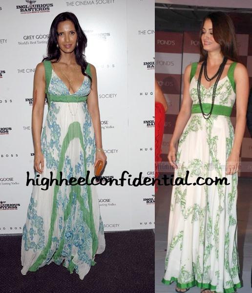 padma-lakshmi-dia-mirza-green-maxi