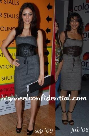 parvathy-melton-lakme-fashion-week-bebe-dress