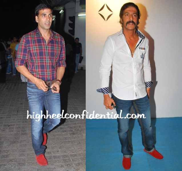 akshay-kumar-chunky-pandey-red-loafer