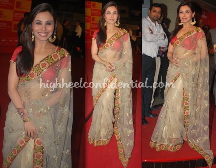 rani-mukherjee-mami-opening-night-manish-malhotra-sari