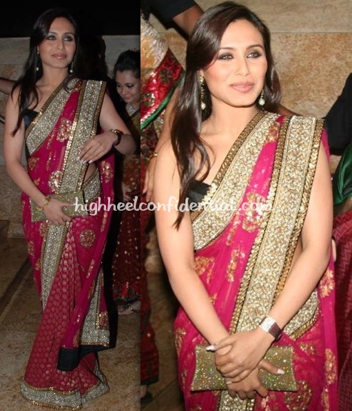 shilpa-shetty-wedding-reception-rani-mukherjee