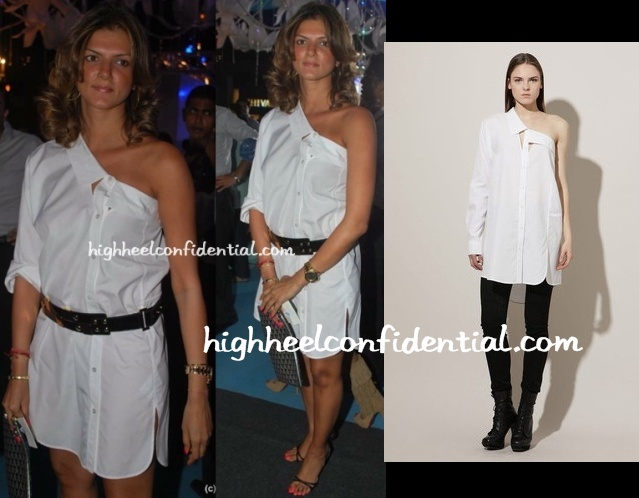 nandita-mahtani-alexander-wang-dress
