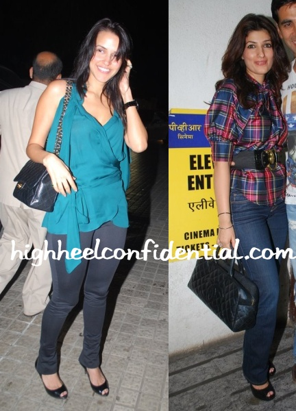 neha-twinkle-de-dana-dan-screening-chanel