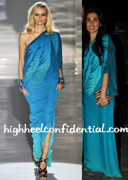 prerna-goel-aer-launch-gucci-blue-dress