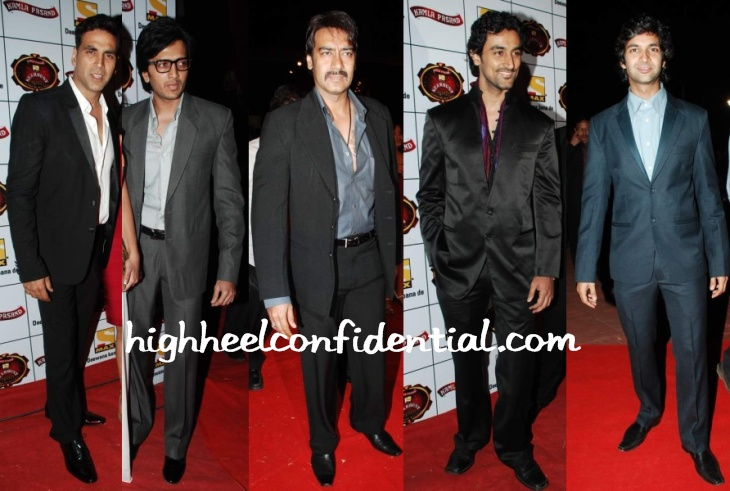 akshay-ajay-kunal-stardust-awards-2010