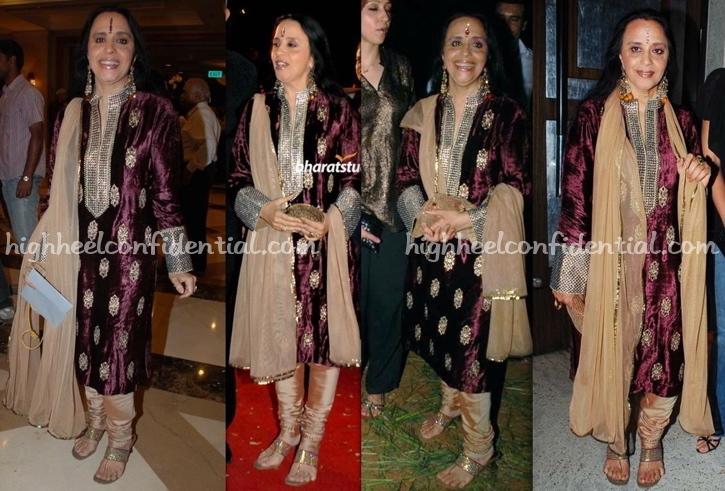 ila-arun-uzuri-launch-shantaram-bharat-shah-wedding-play